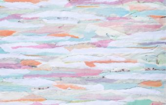collage : pastels