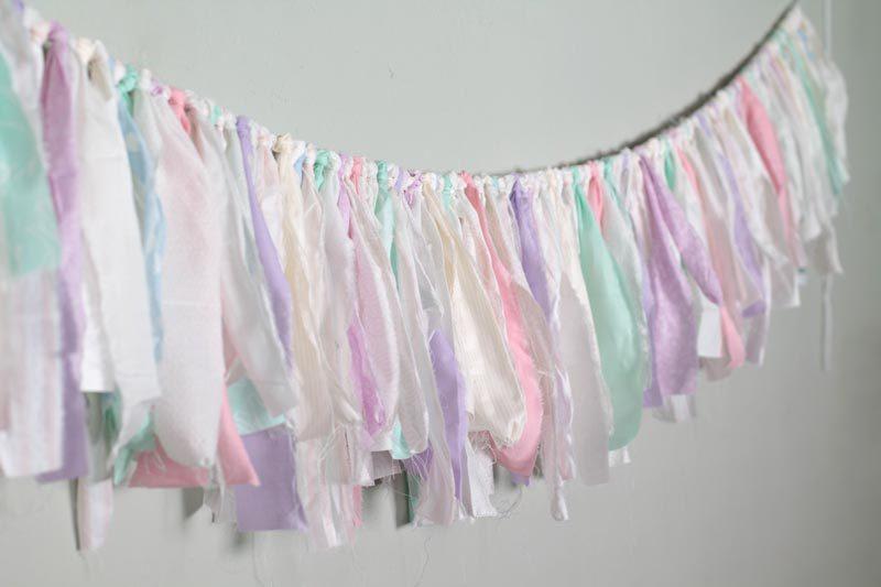 diy cloth garland