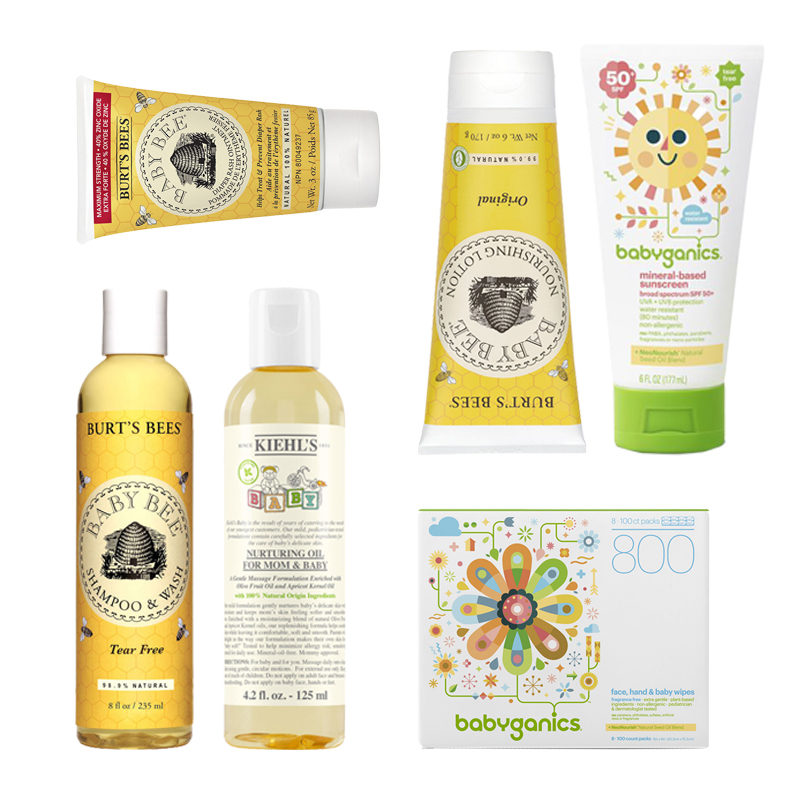 Baby Beauty Products Skincare And Bath Time Routine