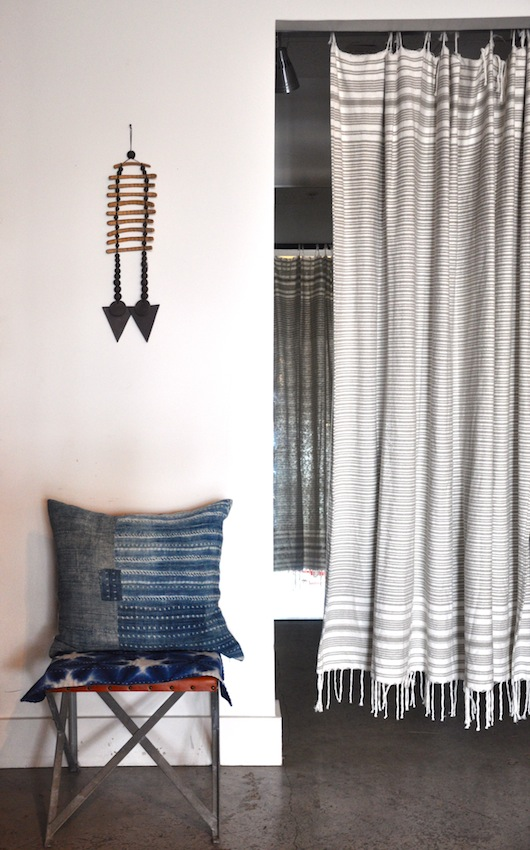 turkish towel curtain
