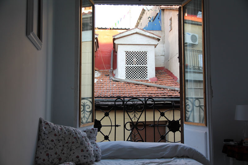 airbnb in madrid, spain