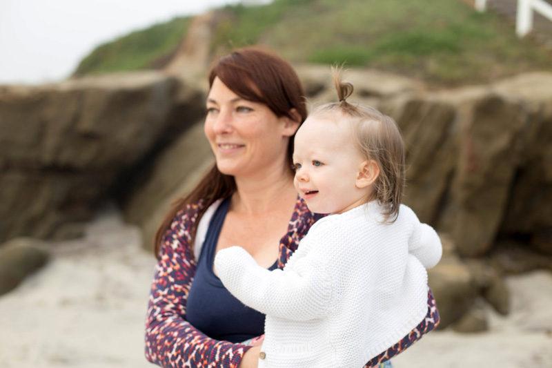 Windansea Beach with Auntie