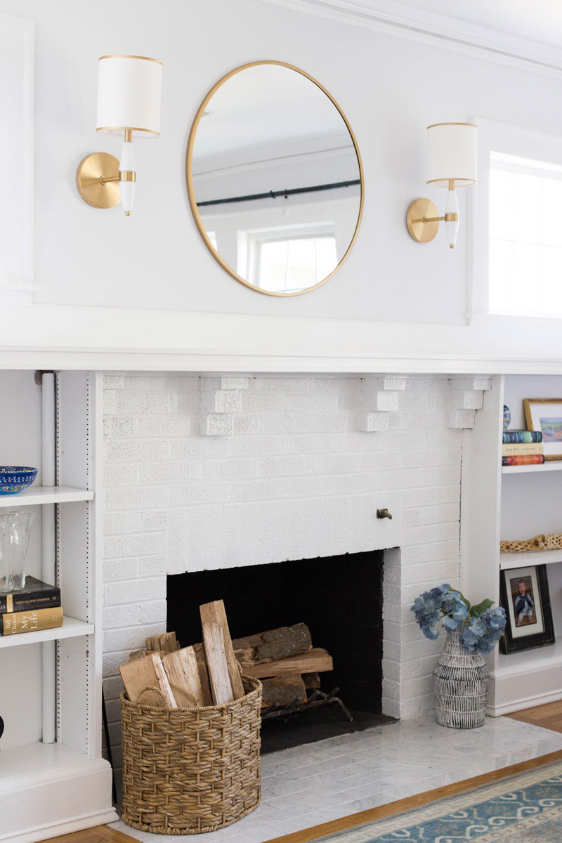 east coast craftsman fireplace