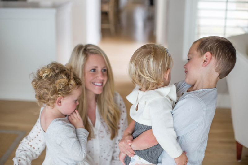 ashlyn carter, mother to three