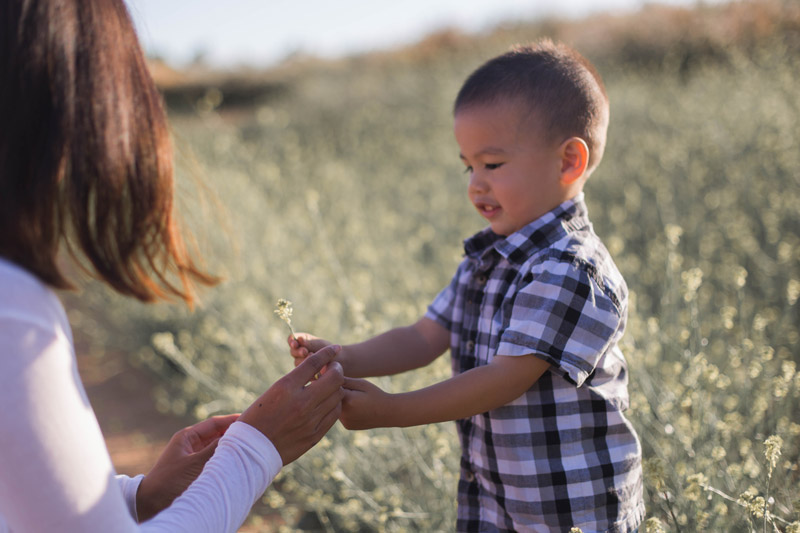 kit carson family session in san diego