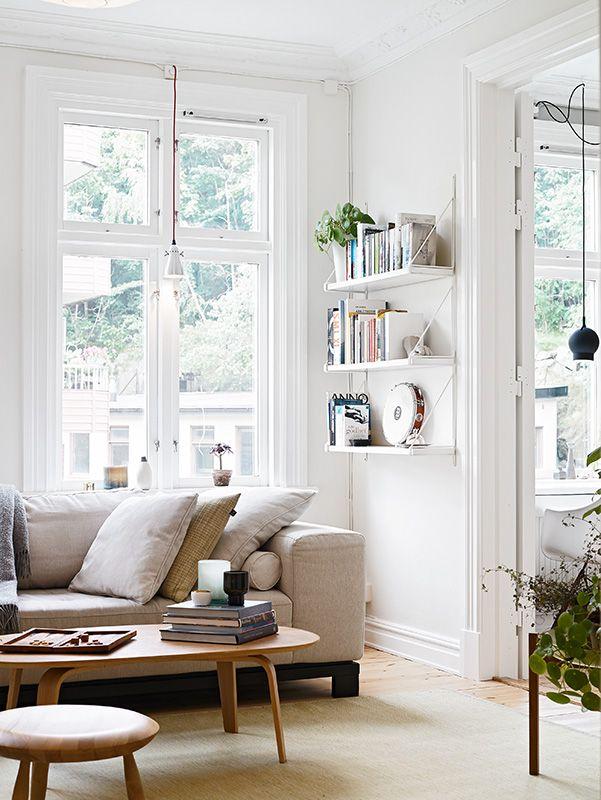 light-filed living room