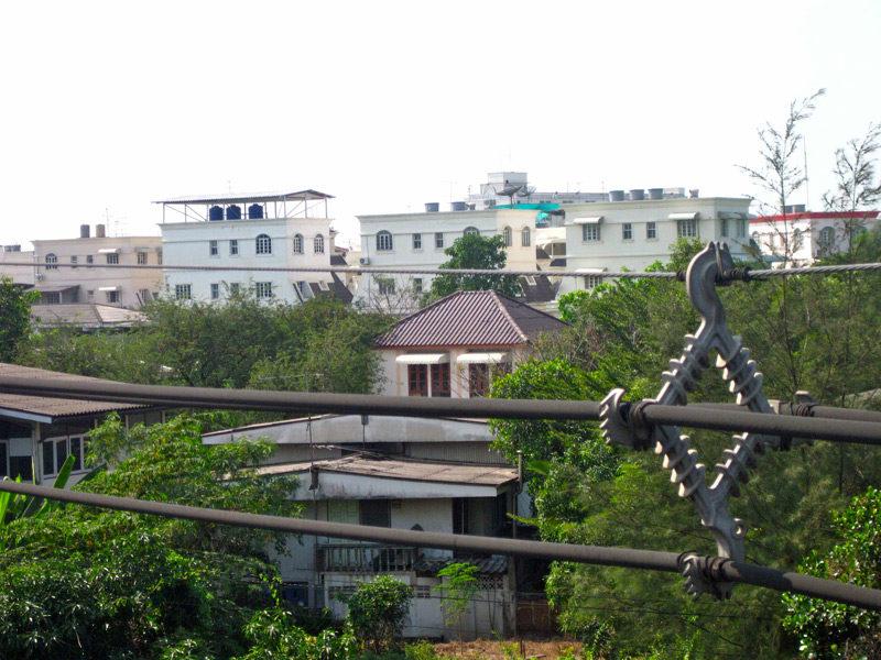 bangkok city neighborhood view