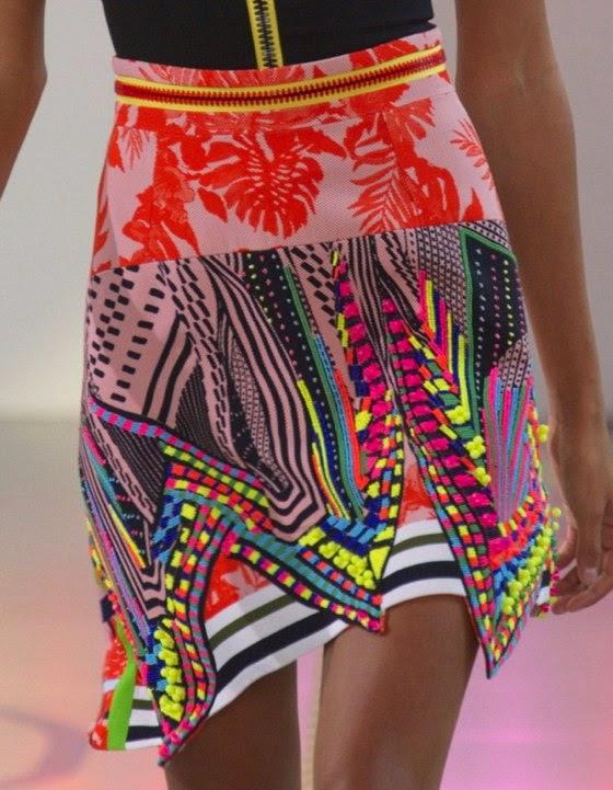 bold pattern mixing style